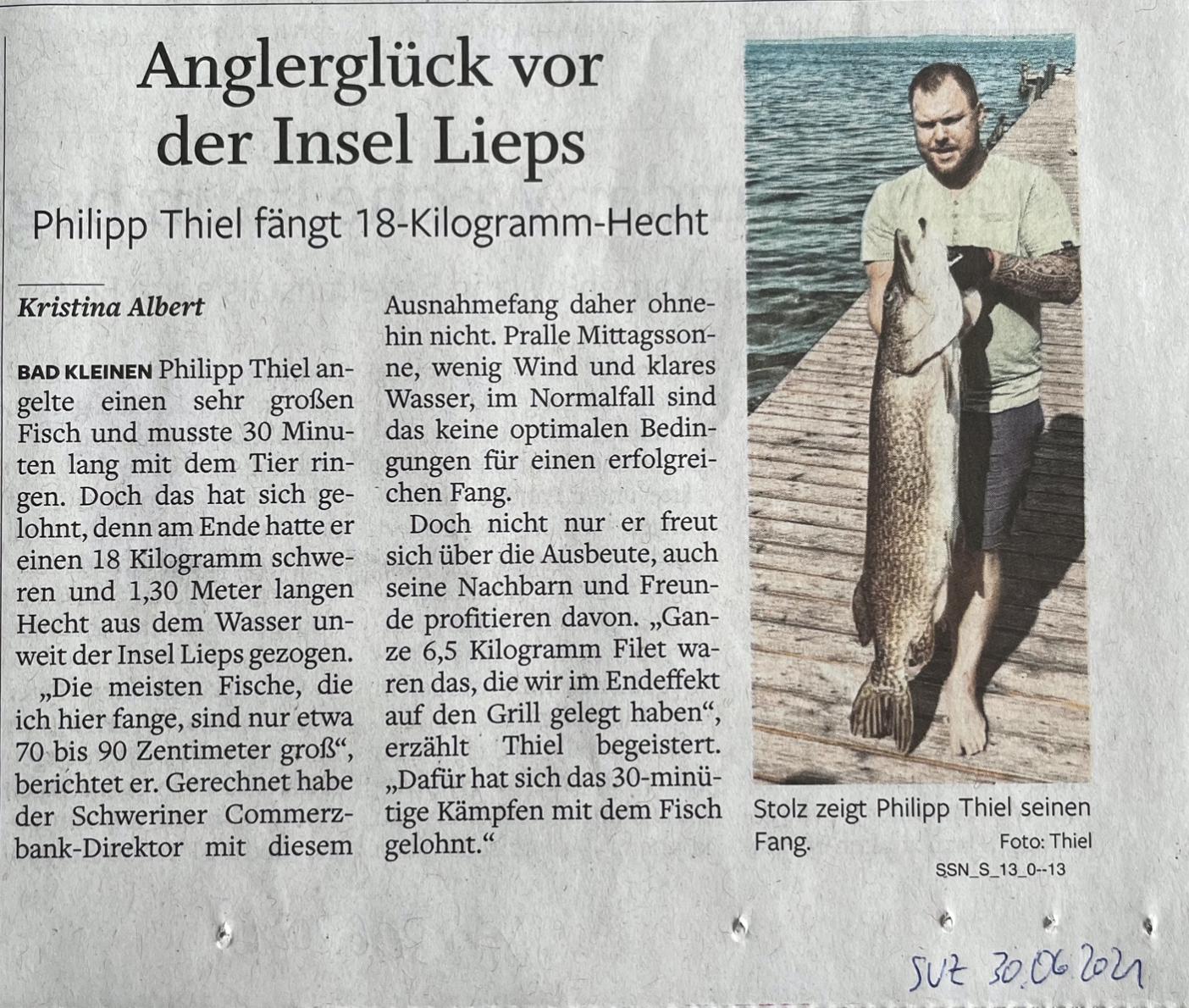 Zeitungsausschnitt Hecht Schweriner Außensee.png