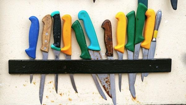 Filetiermesser für Angler