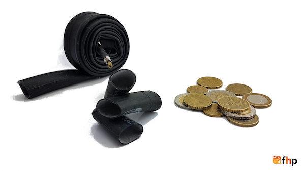 Münzen als Kontergewicht, einfach genial