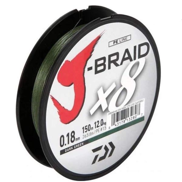 Daiwa J-Braid 8 Braid