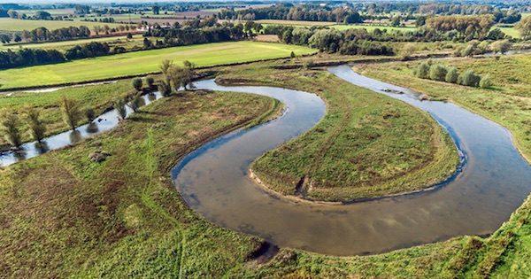 Die Lippe - Flusslandschaft des Jahres 2018 und 2019 (Foto- Bezirksregierung Arnsberg)