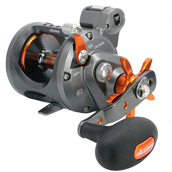 Okuma Cold Water Linecounter Trolling Reel CW-303D