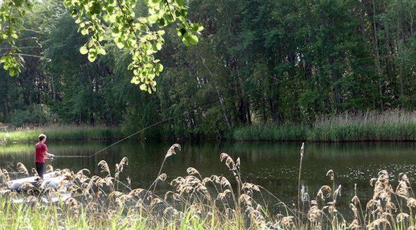 Silbersee – Spinnfischen vom Schlauchboot