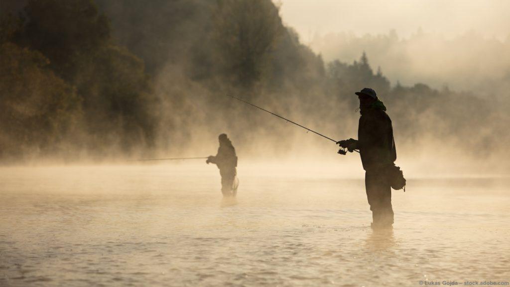Angeln an Salmonidengewässern