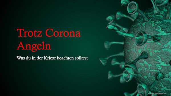 Coronavirus mit Artikel Überschrift