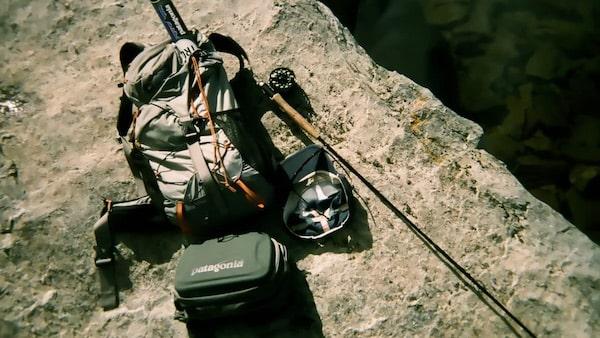 Ausrüstung zum Fliegenfischen