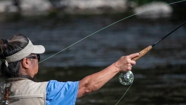 Fliegenfischen Wurftechniken