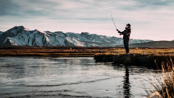Fliegenfischen sich selbst Erfinden