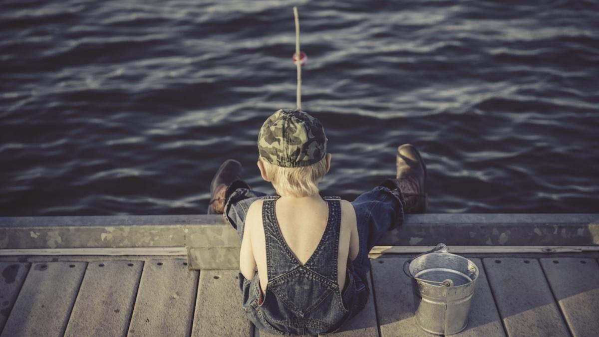 Was sind Köderfischeimer