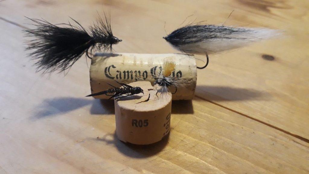 Whooly Bugger, Streamer, Steinfliegenlarve